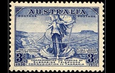 Amphitrite Australia stamp