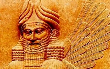 Image result for anu mesopotamian sky god bull