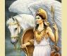 Goddess And Titan Of Wisdom