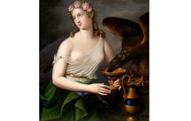Goddess of Youth and Cupbearer Hebe