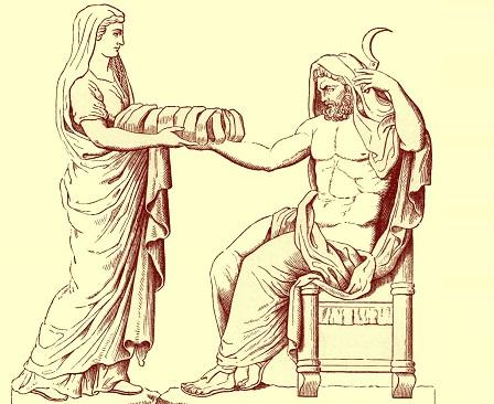 Cronus Kronos Greek Titan Of The Harvest Mythology