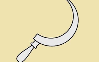 Kronos Symbol - Sickle