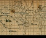 Map From Newspaper Clipping