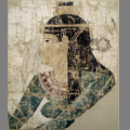 Nephthys from a painted shroud