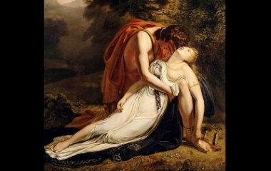 Orpheus Mourning the Death of Eurydice, 1814
