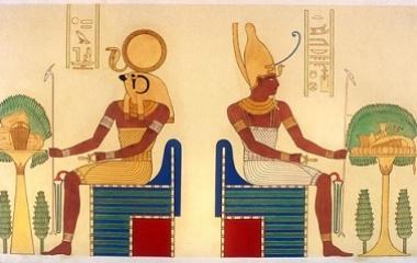 Ra-Horakhty and Atum