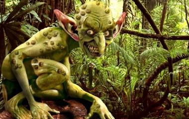 Real-World Goblin Render