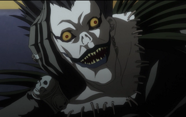 Shinigami in Death Note