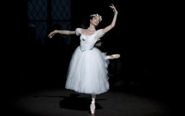 Sylph in Ballet La Sylphide