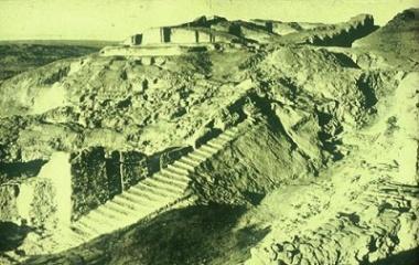 Unreconstructed Ziggurat of Anu in Mesopotamia
