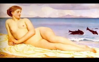 Nereid - 1868 Frederic Leighton