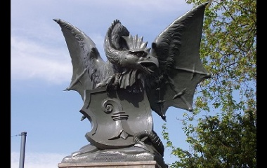 Basilisk Statue in Switzerland