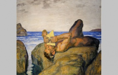 Faun painting