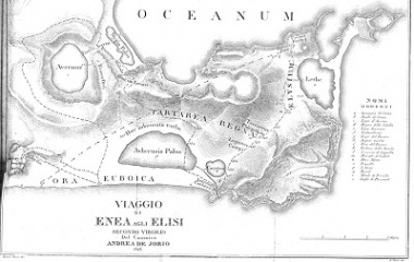 Map of Virgil's Underworld