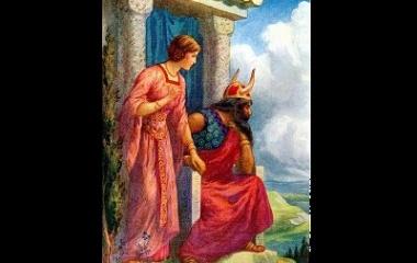 Odin and Frigg