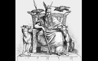 Odin and mythology asian