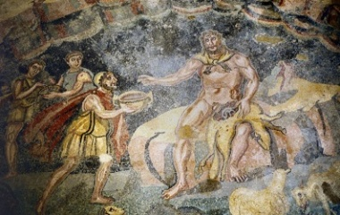Polyphemus in ancient Roman mosaics