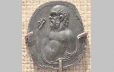 Socrates Carnelian Gem Imprint Rome