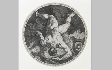 Tantalus by Hendrick Goltzius