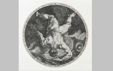 Tantalus by Hendrick Goltzius