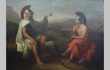Telemachus painting