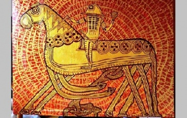 The Vikings - Odin Riding Sleipnir