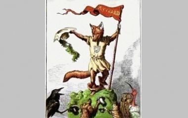 The trickster figure Reynard the Fox