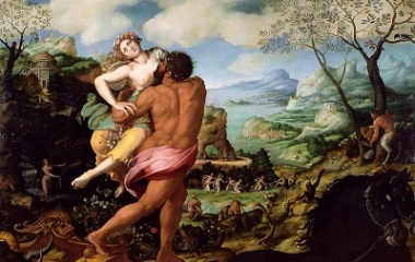 Abduction of Proserpine by Alessandro Allori