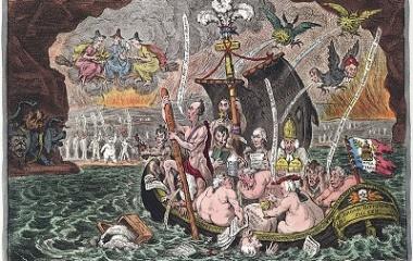 Charon's Boat in River Styx