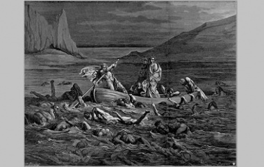 Crossing the Styx, illustration 1861