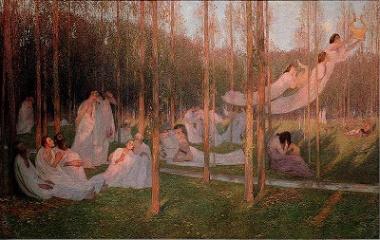 Elysian Fields by Henri Martin
