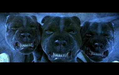 Fluffy Hellhound in Harry Potter
