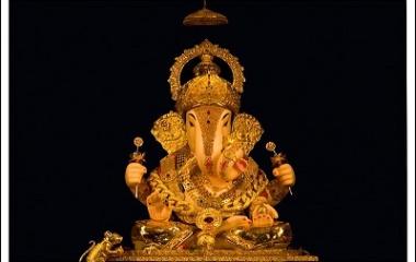 Ganesh festival procession