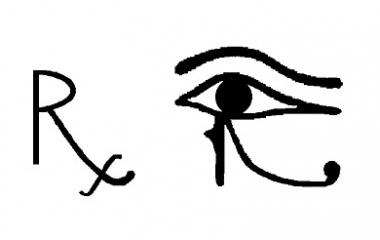 Prescription R and Horus Eye