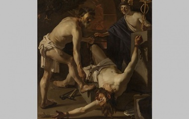 Prometheus Being Chained
