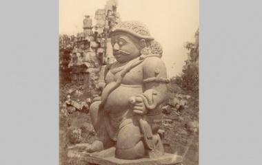 Sculpture Raksasa at Tjandi Sewoe