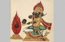 Three-headed Rakshasa