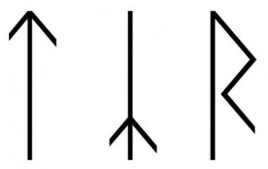 Tyr runes