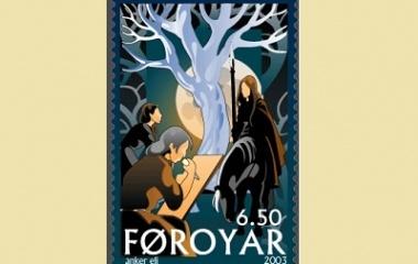 Yggdrasil on stamp
