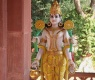A Statue Of Deity Vishnu