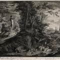 Adam overlooks the Garden of Eden