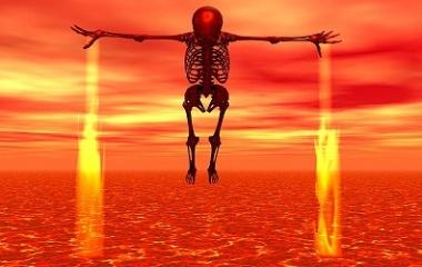 Flying Skeleton Hell