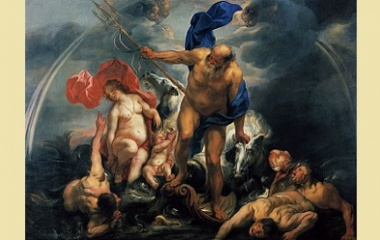 Neptune and Amphitrite in the storm