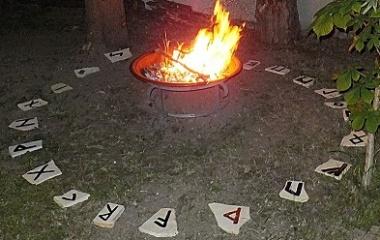 Rune Stone Circle