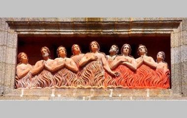 Souls in Purgatory at Church of Animas