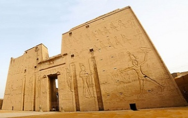 Temple of Horus in Egypt