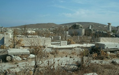 Temple of Leto in Delos