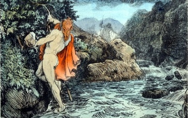 Thor's Journey to Geirrodsgard, 1906