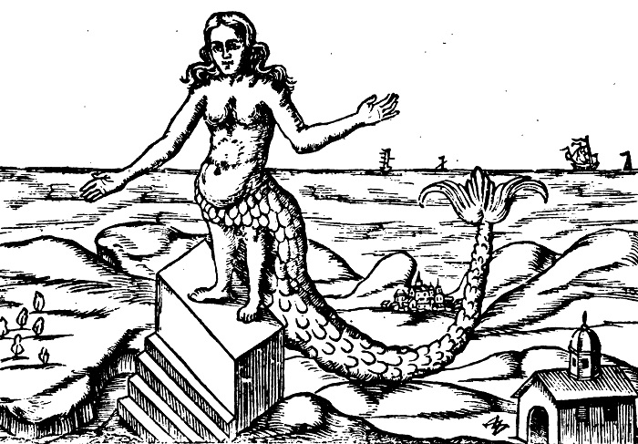 Atargatis, the first mermaid