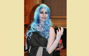 Cosplay of Hades at Comic Expo 2014